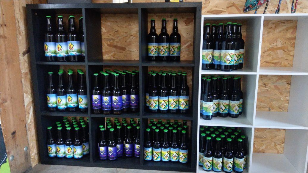 Nos bières...